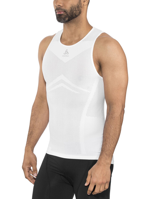 Odlo Breathe Crew Neck Singlet Men white